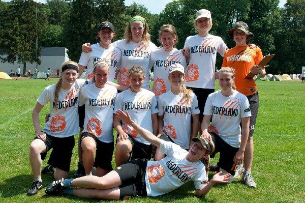 Das Niederländische Nationalteam erreichte bei den 5. DDC Platz 4. Foto: Müller-Laschet