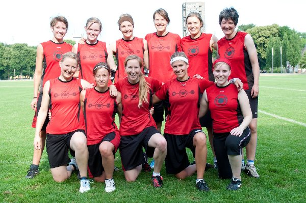 "Die ""Mainzelmädchen"" belegten bei den 5. DDC 2011 Platz 7. Foto: Müller-Laschet"