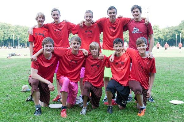 """Ein tolles Nachwuchsteam aus Beckum, mit mehreren Junioren-Nationalspielern: """"Sean's Sheep"""" aus Beckum"""