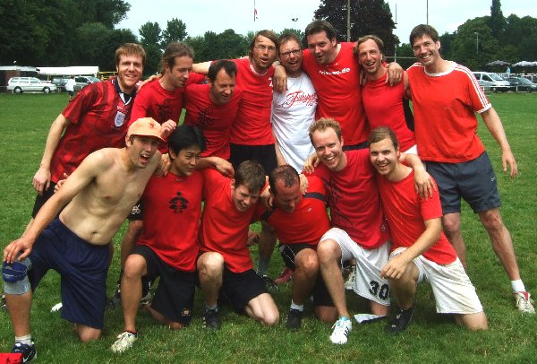 Kölns zweite offene Mannschaft, Frühsport 0,5, bei der Quali Nord 2011 in Hannover