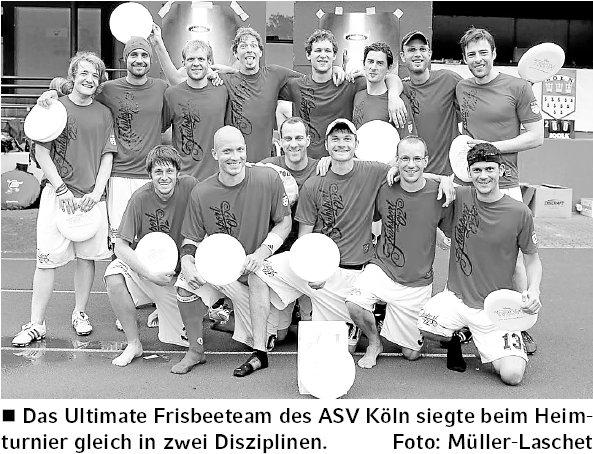 Kölner Wochenspiegel, 26.06.2011, Foto von Gero Müller-Laschet zu Disc Days Cologne-Nachbericht