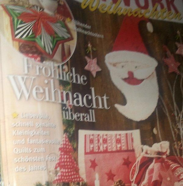 """""""Fröhliche Weihnachten"""": Bastelzeitschrift August 2011"""