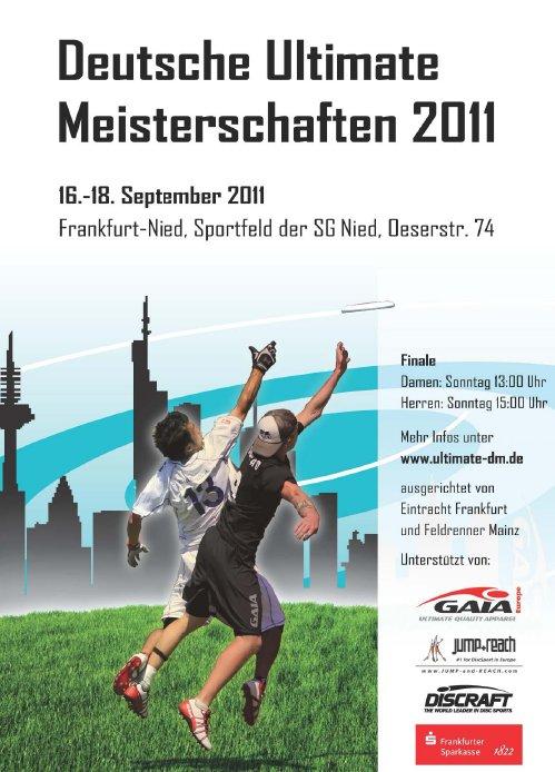 Offizielles Plakat zur DUM 2011 in Frankfurt am Main
