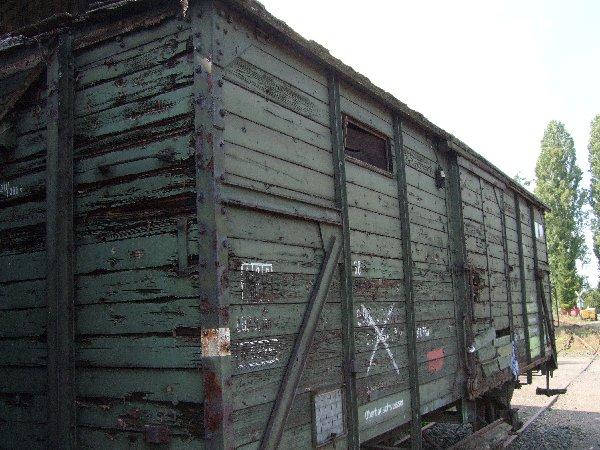 Rund 100.000 Holzwaggons gab es in Deutschland, die zentral in Nippes ausgebessert wurden