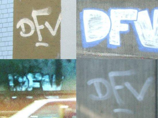 DFV-Graffiti-Quartett, Motive aus Köln