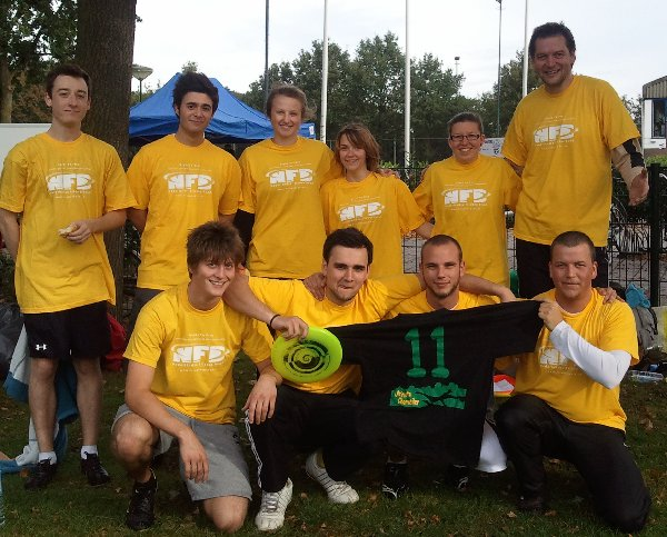 "Ultimate Chorweiler  beim ""Right to play""-Turnier in Veenendaal"