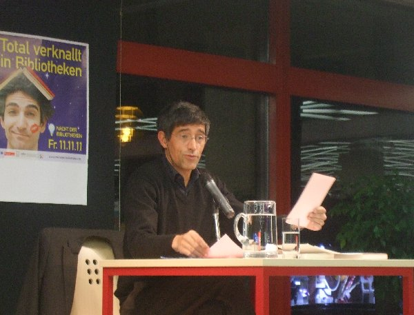 Ranga Yogeshwar liest in der Kölner Stadtbibliothek