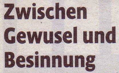 Kölner Stadt-Anzeiger, 17.12.2011, Zwischen Gewusel und Besinnung