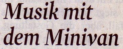 Kölner Stadt-Anzeiger, 09.02.12: Musik mit dem Minivan